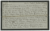 Letter to Edward Stuart Talbot from VW 5 February [1876?]