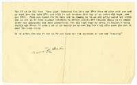 Letter to Marie Bonnet from VW 19 September 1904