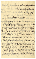 Letter to VW from Marie Bonnet 2 December 1904
