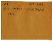 Cat : Owned by Mrs. Harold Walker [copy]