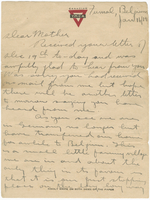 Letter to Mrs. Stepler from Gordon Stepler, January 16th 1919