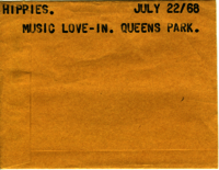 Hippies : Music love-in : Queens Park