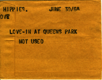 Hippies : Love-in at Queens Park [not used]