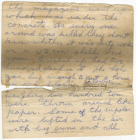 Fragment of a letter to Mrs. Stepler from Gordon Stepler, [March 1919]