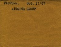 Paupers : Singing Group