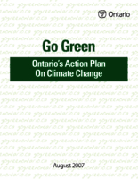 Go Green: Ontario's action plan on climate change
