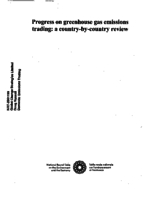 Progress on Greenhouse Gas Emissions Trading: A Country-By-Country Review