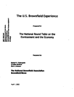 The U.S. Brownfield Experience