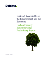 Carbon Country Benchmarking: Preliminary Report