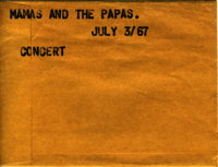 Mamas and the Papas : Concert