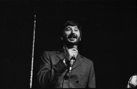 Denny Doherty in performance with The Mamas and the Papas at Maple Leaf Gardens