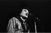 Scott McKenzie in performance with The Mamas and the Papas at Maple Leaf Gardens