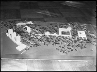 Architectural model of the Glendon Campus, York University