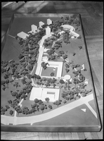 Architectural model of the Glendon Campus, York University, portrait orientation