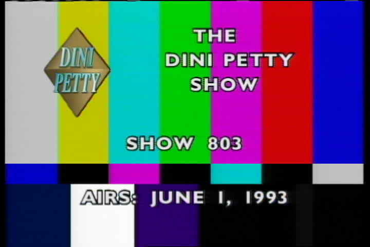 The Dini Petty Show : Lee Milteer/Spalding Gray/Simply Majestic/Timeless Magic/Phone Home - Jeff Adams