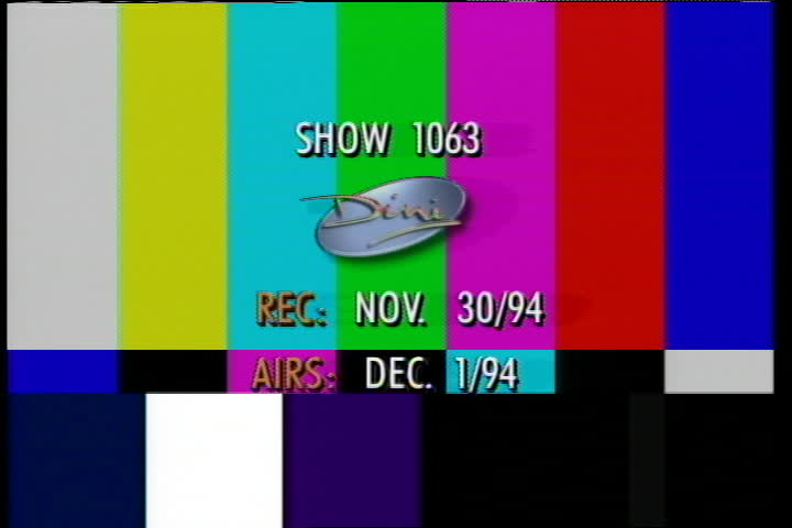 The Dini Petty Show-1 December 1994