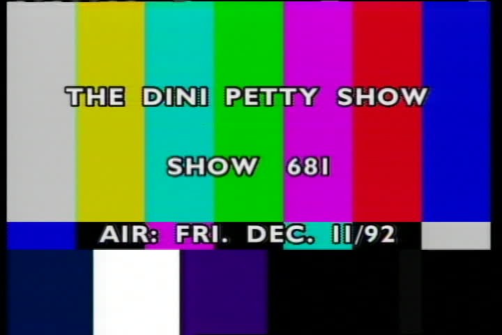 "The Dini Petty Show : Girl Talk/Michael Caine/""Courage In the Air""/Trisha Romance/Ice Climber"