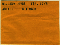 Wieland Joyce : Artist [not used]