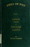 Songs from a northern garden