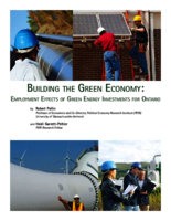 Building the green economy: Employment effects of green energy investments for Ontario
