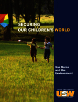 Securing our Children's World: Our Union and the Environment