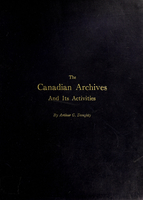 Canadian archives and its activities