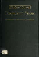 Community music : a practical guide for the conduct of community music activities