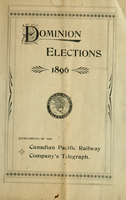 Dominion elections 1896