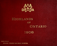 The highlands of Ontario