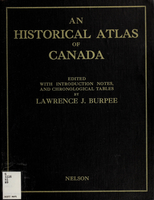 An historical atlas of Canada