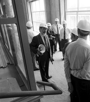 President Arthurs' tour of new buildings
