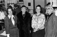 Women's library opening at Founder's College