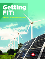 Getting Fit: How Ontario Became A Green Energy Leader and Why It Needs to Stay the Course