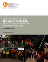 Community Energy Planning: the Value Proposition. Environmental, Health and Economic Benefits