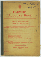Account book - 1930