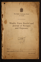Farm record and expense journal - 1927