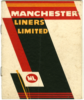 Manchester Liners pamphlet - ca. 1936