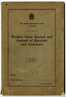 Farm record and expense journal - 1926