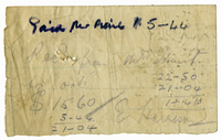 Receipt bundle - 1931 - 1932