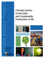 Climate Justice, green jobs and sustainability