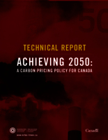 Achieving 2050: A Carbon Pricing Policy for Canada - Technical Backgrounder