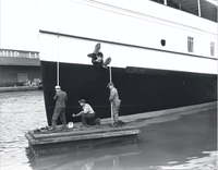 "S.S. ""Cayuga"" : refitted for passenger service"