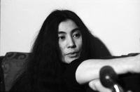 Yoko Ono [at Windsor Arms Hotel].