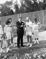 York University : opening of new tennis courts