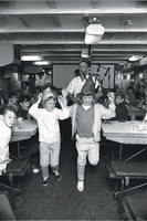 "Shipping, H.M.S. ""Hampshire"" : visited by children from Loyal True Blue Orange Home"