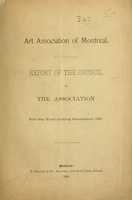 Report of the council to the Association for the year ending December 1892