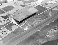 Malton, Ont. New Woodbine Racetrack : Queens Plate aerials