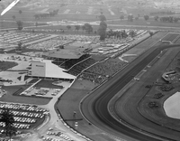 New Woodbine Racetrack : air views Queens Plate