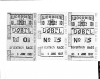 Woodbine Racetrack : tickets