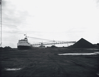 "Boats, ""Diamond Alkali"", coal freighter"